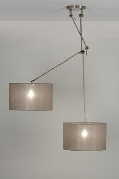 Hanglamp 30317: Modern, Klassiek, Design, Staal