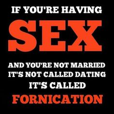 Bible scriptures about fornication