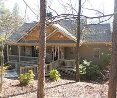 Inviting Mountain cabin 1522sf. great plan with basement