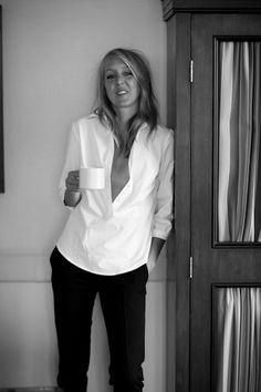simple white shirts