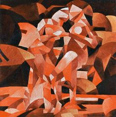 MoMA | Inventing Abstraction | Francis Picabia | Danses à la source II (Dances at the spring II). 1912