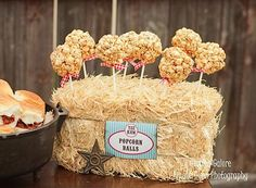 popcorn ideas   Published November 2, 2012 at 600 × 441 in Classic Cowboy Birthday ...