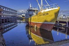 Because harbors. | 25 Reasons Why You Should Peace Out And Go Photograph Icelandhttp://www.wallacetravelgroup.ie/holidays/iceland-holidays.189.html