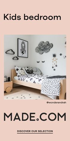 Boy or girl? No matter. Much more important is that children stimulate the imagination, invite to play and at the same time are a retreat. Ideal for: our bunk beds, modular furniture and toy boxes. Small Room Bedroom, Girls Bedroom, Bedroom Decor, Bedroom Ideas, Boy Room, Kids Room, Teen Room Furniture, Mezzanine Bed, Interior Design Minimalist