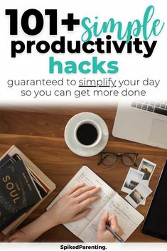 Wondering how you can get more done in less time? Or if it's even possible? Well, I promise it's possible, you just need some proven time management and productivity hacks to make it happen. Check out these 100+ productivity hacks guaranteed to make your life easier. Includes busy mom hacks, work at home productivity, goal planning, time management techniques, and so much more. Time Management Techniques, Time Management Tools, Time Management Strategies, Productivity Challenge, Productivity Hacks, Strategic Goals, Goal Planning, Tool Organization, Mom Hacks