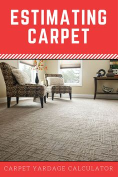 Calculate how much carpet you need to install flooring and estimate the carpet installation cost.