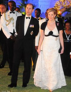 The Duke and Duchess of Wessex's on duty for the Queen's Diamond Jubilee