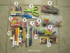 What's in My Therapy Box?: 60+ Supplies for School-Based OTsMama OT