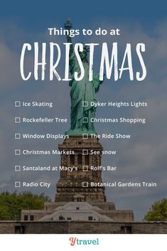Planning to visit New York City at Christmas? Here are 15 magical things to do in NYC at Christmas. Including tips on the best attractions in NYC. Christmas is the most magical time of the year in New York! Nyc Christmas, Christmas Travel, Holiday Travel, Christmas Markets, Visit New York City, New York City Travel, Global Holidays, European Vacation, Holiday Destinations