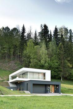 Modern Container House Design Ideas can find Modern house design and more on our website. House Structure Design, Facade Design, Exterior Design, Exterior Colors, Exterior Paint, Door Design, Water Architecture, Architecture Design, Architecture Colleges