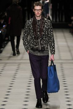 Burberry Prorsum - Fall 2015 Menswear - Look 11 of 49