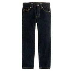 Boys' slim-fit jean in dark rinse wash