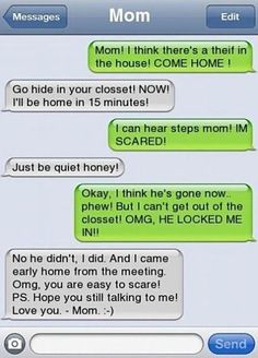 There's a thief in the house!