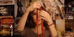 DIY video-návod na výrobu 3 náhrdelníkov zo starých tričiek