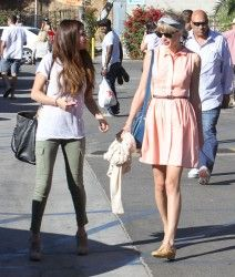 27 June 2012 | Selena Gomez & Taylor Swift | Out and About in Malibu