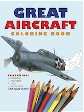 Covering all kinds of military and civilian aircraft, Great Aircraft Colouring Book includes 30 aircraft from around the world. One aircraft is covered over each two- page spread, with an expert colour artwork matched with a detailed outline for the child to complete a masterful colouring project.