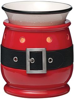 New for the 2012 Scentsy Holiday Candle Warmer Collection is the Santa Claus Scentsy Warmer. The Jolly Scentsy Warmer. Santa Claus is coming to town! Scentsy Burners, Electric Wax Warmer, Candle Warmer, Wax Warmers, White Dishes, Red Christmas, Christmas Ideas, Christmas Time, Holiday Ideas
