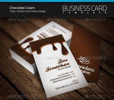 Chocolate Business Card | $6