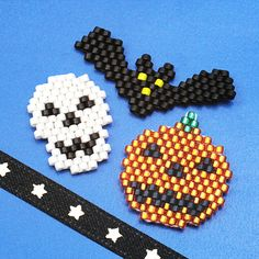 Halloween recipes SP41-1 Brick stitch motifs
