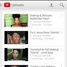 Subscribe to my channel! Youtube B. Younique!