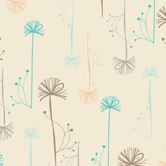 Revive Collection, Almond Wispy Seedheads RE-8725   by Pat Bravo for Art Gallery Fabrics