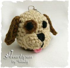Ravelry: Puppy Dog Eos Lip Balm Holder pattern by Wendy Connor