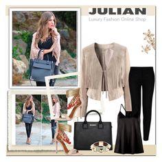 """JULIAN Luxury Fashion Online Shop"" by melisa-j ❤ liked on Polyvore featuring STELLA McCARTNEY, Karl Lagerfeld, Aquazzura, Bonheur, Givenchy and Julian"