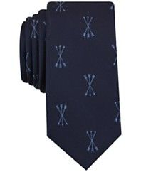Bar III Men's Arrows Graphic-Print Tie, Only at Macy's