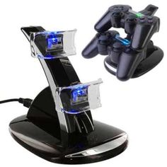 Charging-Dock-Station-USB-Hub-Power-Stand-for-PS3-Dual-Shock-Wireless-Controller