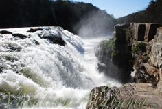 High-Falls-Park-dekalb-county-alabama http://www.vacationsalabama.com/parks/waterfalls/high-falls #vacationsalabama
