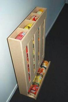 Range boite de conserve