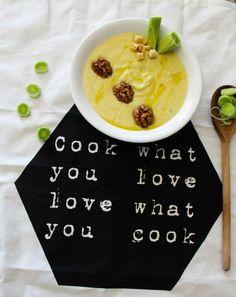 Creamy Leek - Potato Soup Potato Leek Soup, Soups, Potatoes, Cooking, Kitchen, Potato, Soup, Brewing, Cuisine