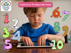 Little Digits - Cowly Owl - math app for wee ones.  $1.99