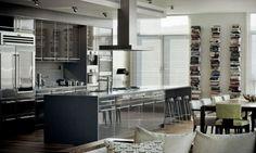 Bary a ostrůvky jako součásti kuchyní