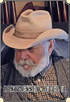 451db33bbfc River Junction Trade Company Cowboy Hat Antiquing and Distressing Trading  Company