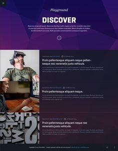 Blink Interactive on Behance