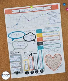 As the calendar year draws to a close, engage your students with this fun and creative Personal Reflection and Infographic Activity. First, students will complete a personal reflection about their year - including lessons they have learned, significant events, memorable moments, accomplishments, favorites, and even set goals for the next year. Then, students will complete an infographic template to present their reflection information quickly and clearly.