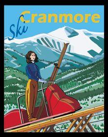 Ski Cranmore - Vintage New Hampshire !