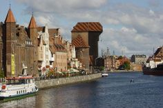 Gdansk is an old Hanseatic city on the Baltic coast.