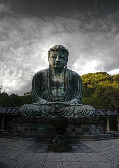 The Great Buddha...  Kamakura ...  Japan
