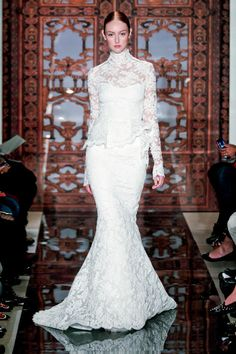 Romantic Lace: 2013 Wedding Dress Trends #Wedding #Dress #Trend #Fashion  www.AZFoothills.com