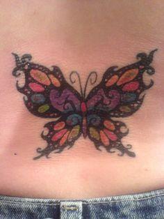 ButterflyTattoo designs, Celtic Tattoo Tribal Butterfly: Celtic Butterfly Tattoo Designs as Symbolized Rebirth Girly Tattoos, Small Star Tattoos, Sun Tattoos, Celtic Tattoos, Cover Up Tattoos, Great Tattoos, Beautiful Tattoos, Body Art Tattoos, Tribal Tattoos
