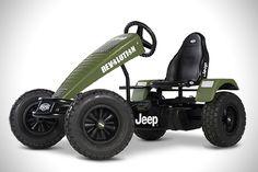 BERG Jeep Adventure Pedal Go Kart 3