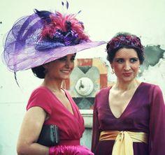 #Cherubina #tocados #invitadas #boda #wedding #headpiece Pamela de plumas y 01.13 a medida