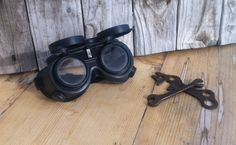 Wasteland Pyro Goggles by WasteTrailWares on Etsy