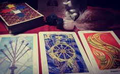 This week's tarot reading.  Sometimes you have to give up on things that are no longer serving you in order to make space for the juicy fiery new beginning. Fate will give you a little nudge this week and help you out. Consider it to be a blessing.  Cards from the Thoth Tarot deck  #weeklyreading #tarotcommunity #tarot #thothdeck