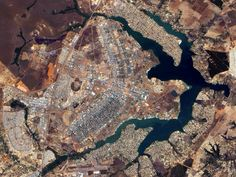 planned cities from space