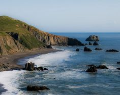 Goat Rock Beach, near Jenner and the Russian River, California - good place to see sea lions and seals