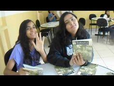 Gaby e Lauane na Sala de Leitura - YouTube