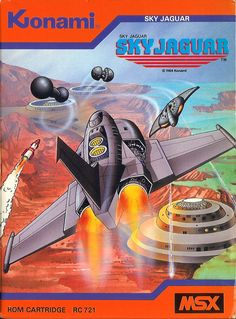 Konami's Sky Jaguar for MSX.
